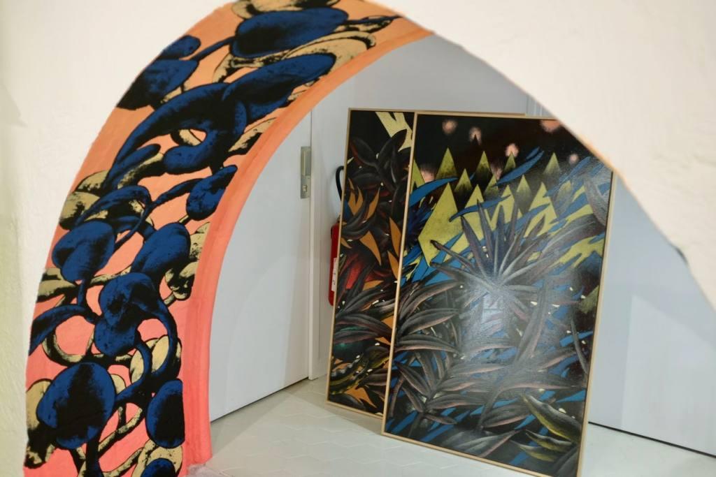 Galerie Ars Longa, contemporary art, Aix-en-Provence, Love Spots (paintings)