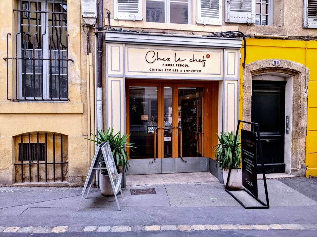 Chez le Chef, takeaway gastronomic cuisine in Aix-en-Provence (Facade)