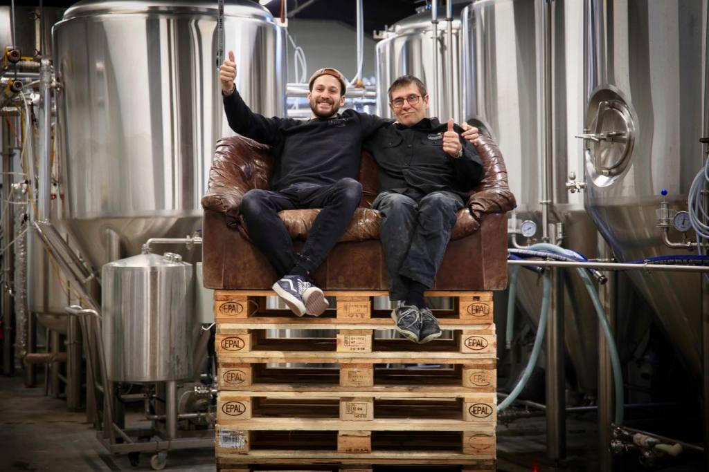 Bulles de Provence craft brewery, Aix-en-Provence (the team)