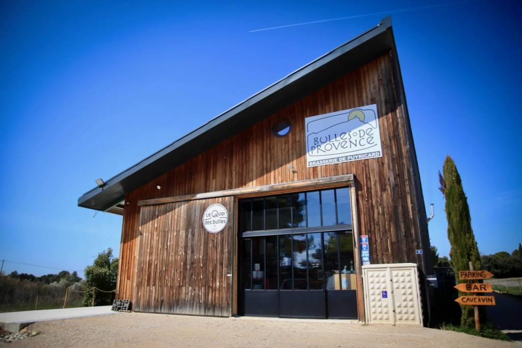 Bulles de Provence craft brewery, Aix-en-Provence (exterior)