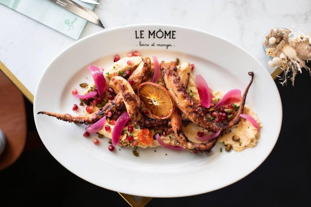 Le Mome, family restaurant in Venelles, city guide Love Spots (a dish)