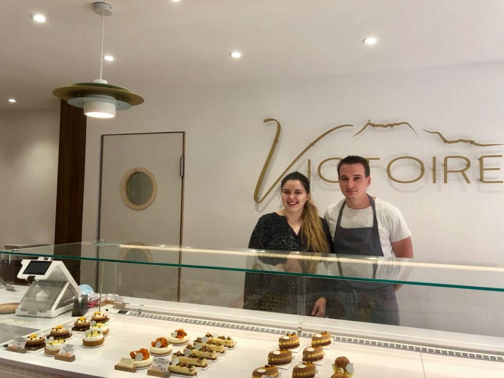 Patisserie Victoire, pastry shop, Aix-en-provence, city guide love spots (the owners)