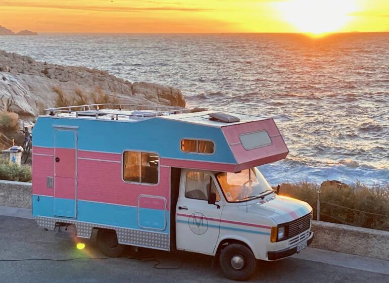 Musiq Voyage, Sound truck itinérant en Provence (bord de mer)
