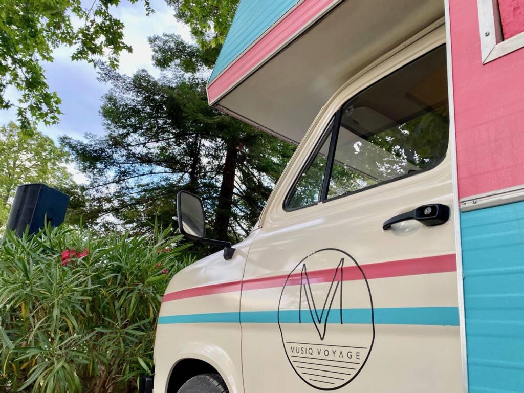 Musiq Voyage, Sound truck itinérant en Provence (camion)
